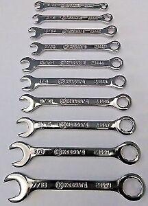 Allen midget open end wrench set