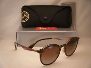5f03bb18ca Ray Ban 4277 Emma Light Havana w Brown Gradient Polar Lens (RB4277 ...