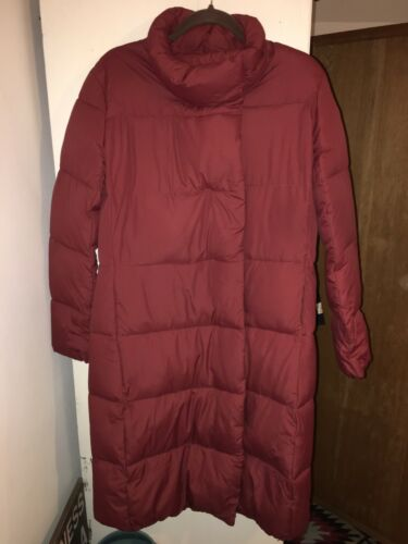 Tags Kvindens Coat Smart 12 Størrelse New M Large Puffs Without Jacket Red tvang 7HrqZ7