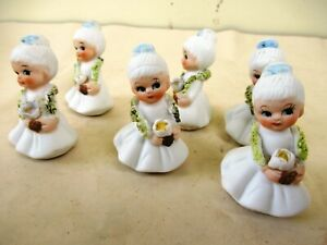 Antique Doll Frozen Charlotte Miniature All Bisque Dollhouse China Head Germa F2