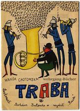 Kinderbuch: Chotomska & Butenko: Trąba, Musik-Bilderbuch, Polen,  1961