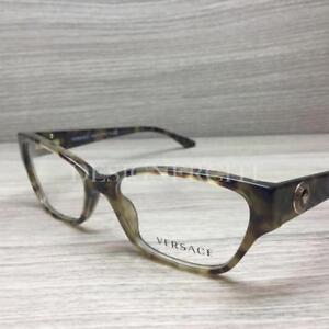 82cdef4c16761 Versace VE 3172 Eyeglasses Olive Green Tortoise 5078 Authentic 52mm ...