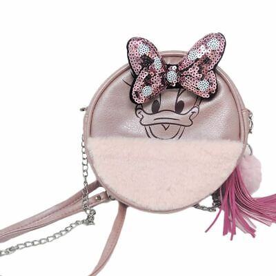 Cute Cartoon Lolita Penguin Plush Chain Backpack Crossbody Shoulder Bag Purse