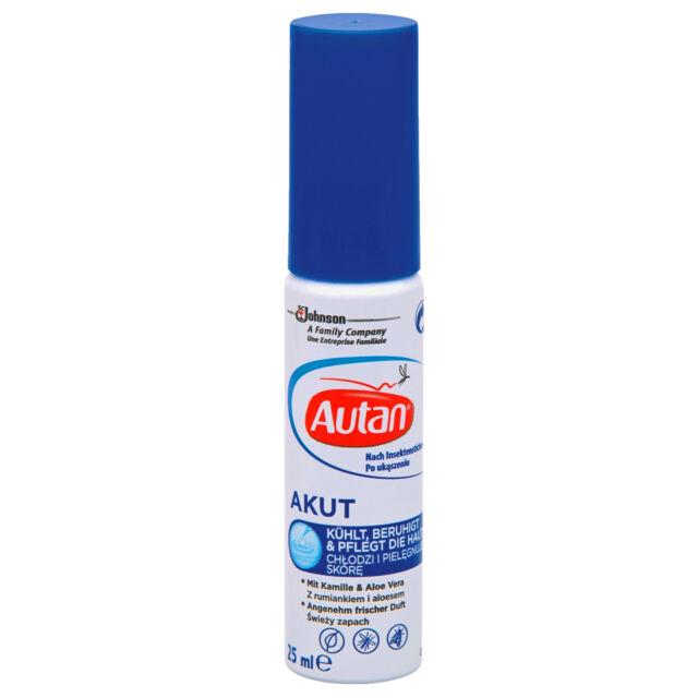 ( 22,80€/ 100ml) 25ml Autan Akut GEL POUR selon le insektenstich refroidit calme