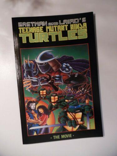 TEENAGE MUTANT NINJA TURTLES THE MOVIE GRAPHIC NOVEL B /& W MIRAGE STUDIOS 1990