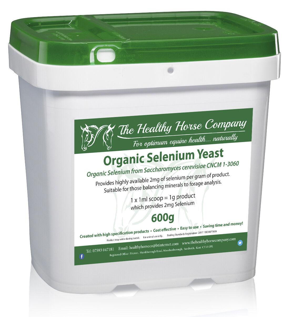 Selenium Yeast -Organic - 600g Refill