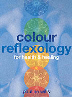 1 of 1 - Color Reflexology: For Health & Healing-ExLibrary