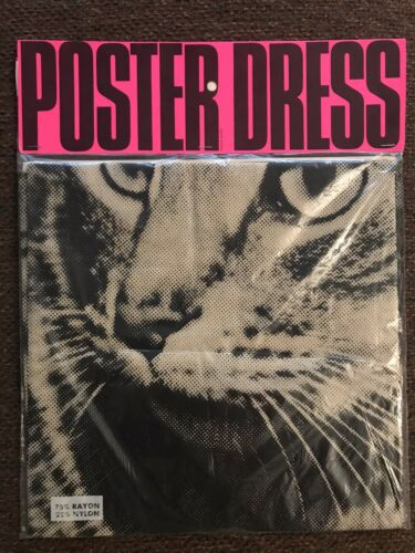 1968 Harry Gordon Poster Dress POP Art Warhol