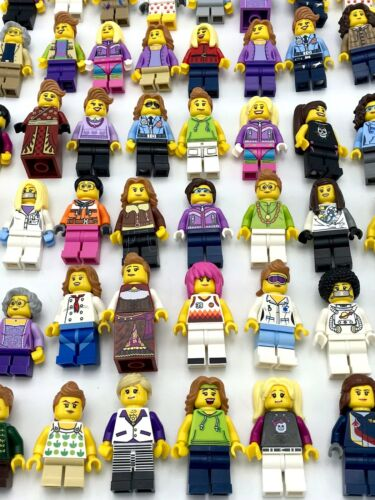 Lego 50 Féminin Fille Mini Figurines Ville City Séries Amis