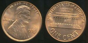 United-States-1976-One-Cent-Lincoln-Memorial-Uncirculated