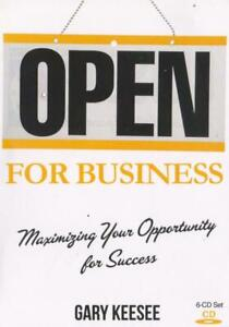 Open For Business Maximizing Your Opportunity For Success Audio Book Cd Learn Ebay