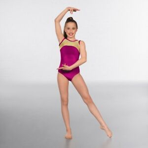 331725774b0 Image is loading 1st-Position -Velour-Gold-Hologram-Sleeveless-Dance-Gymnastics-