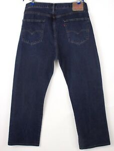 Levi's Strauss & Co Herren 751 Gerades Bein Jeans Größe W38 L32 BBZ545