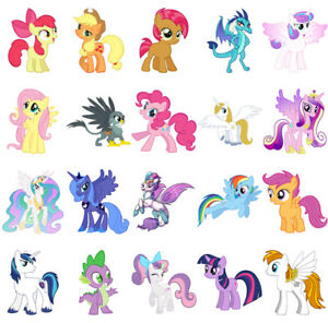 My Little Pony characters, iron on T shirt transfer ...