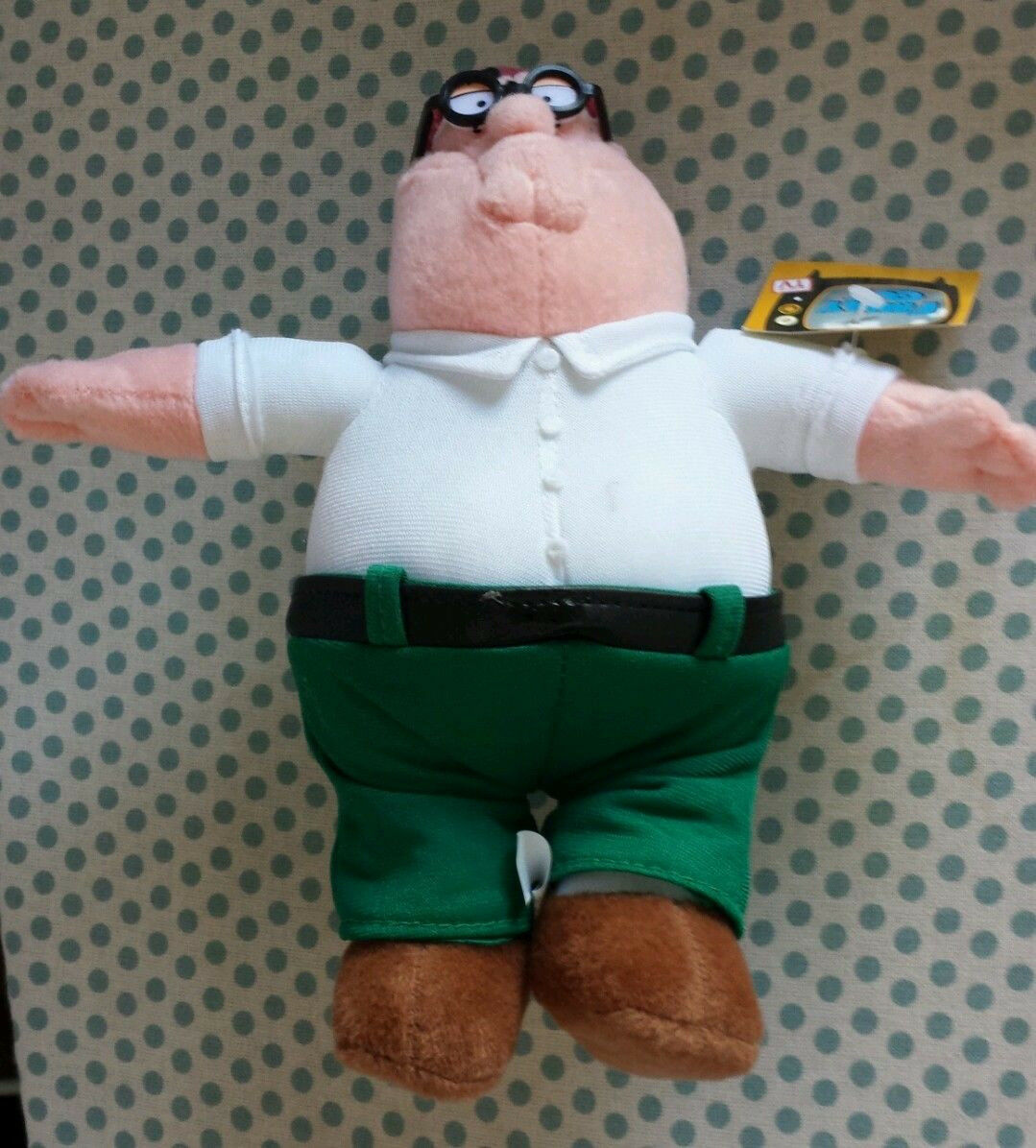 Family Guy PETER GRIFFIN Plush STUFFED ANIMAL Toy NEW
