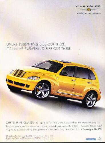 2006 Chrysler PT Cruiser Classic Vintage Advertisement Ad A18-B inspiration