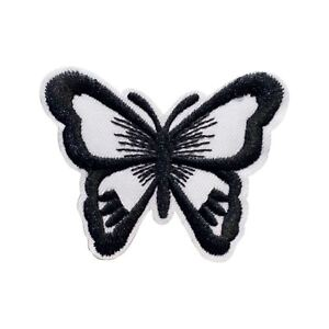 Gold Butterfly Sequin Embroidery Iron-on Emblem Badge Dress Patch Shirt Applique