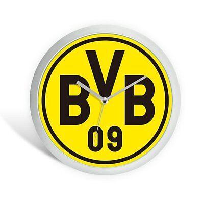 """Wanduhr """"emblem"""" Borussia Dortmund Bvb Neu Erfrischend Und Wohltuend FüR Die Augen"""