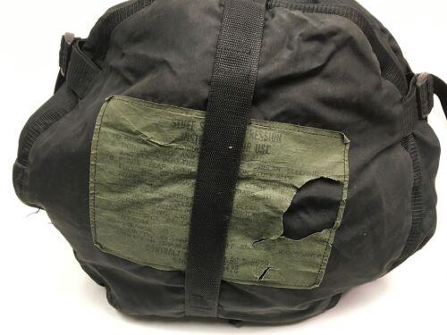 US Military 9 Strap Compression Stuff Sack Sleep System Black USGI TENNIER GC