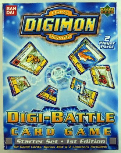 Digimon Factory Sealed Digi-Battle Card Game 1st Edition Starter Set