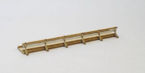 Lasercut Bausatz Seitensteg für Wanderweg Spur N