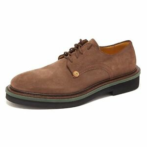 9574R scarpa uomo PACIOTTI 308 MADISON suede vintage brown marrone shoe men [6] Vdwni