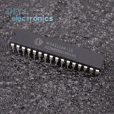 1PCS IC W24512AK-15 DIP-32 64K X 8 HIGH SPEED CMOS STATIC RAM WINBOND US