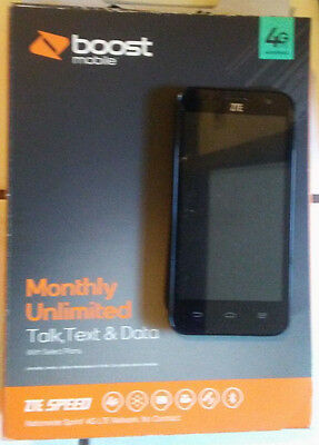 New Boost ZTE SPEED 4G LTE Cell Phone Smartphone Wireless -SHIPS TODAY!  Android 885913102511   eBay