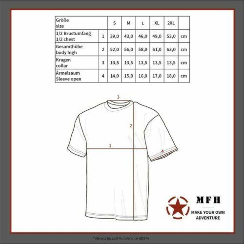 MFH US T-Shirt Damen  urban Army Shirt Kurzarmshirt Sommershirt Camouflage S-XL