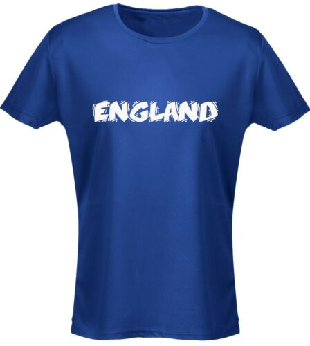 England Funky Font Football Womens T-Shirt 8 Colours 8-20 by swagwear