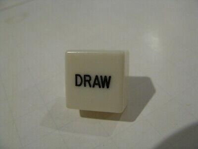 New Vintage IGT Fortune 1 slot Cancel Button #51704690 cap legend sq Draw Poker