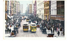 CROSSTOWN TROLLEY ON 23RD ST. STERNS DEPT STORE ON RIGHT, DETROIT PC CO. NYC