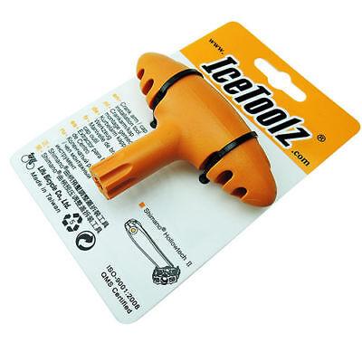 Crank Arm Cap Install Tool IceToolz 04T1 Vélo Clef D/'installation de Manivelle
