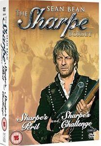The Sharpe Box Set: Sharpes Challenge and Sharpes Peril [DVD] [2006][Region 2]