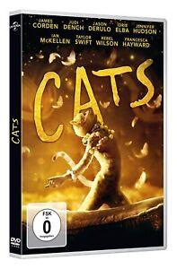 Cats (2019) [DVD/Nuovo/Scatola Originale] trasposizione sullo schermo del musical di Andrew Lloyd Webber