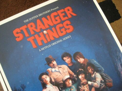 """Stranger Things 11/"""" x 17/"""" Set of 3 Movie Collector/'s Poster Prints"""