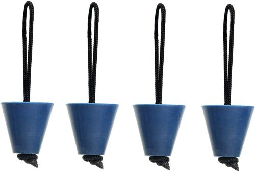 """Details about  /8 PCS Universal Kayak Scupper Plug Kit Fit 3//4/"""" to 1.5/"""" Scuppers//Scupper Holes"""