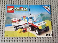 Lego 6663 Octan  Wave Rebel - Build Instructions ONLY