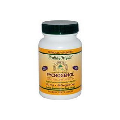 Pycnogenol, 150mg x 60VCaps, Healthy Origins, Uk Stocks, 24Hr Dispatch