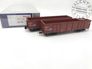 ROCO-76127-set-di-2-carri-merci-Eaos-FS-Italia-ep-IV-1-87