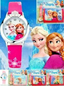 Frozen Children's Watch & Wallet Set For Kids Boys Girls Christmas Gift Set 2020