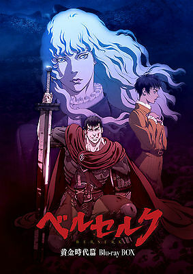 [ Blu-ray ] BERSERK The Golden Age Arc Blu-ray BOX R18 ver. JAPAN ANIME