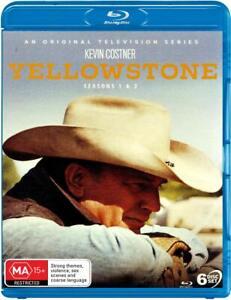Yellowstone Seasons 1 and 2 Blu-Ray NEW