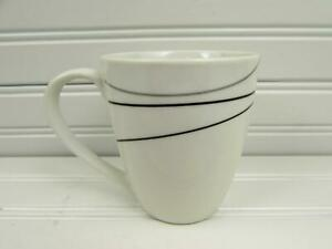 Alec-by-Tabletops-Unlimited-Mug-Black-amp-Gray-Lines-NEW-b255