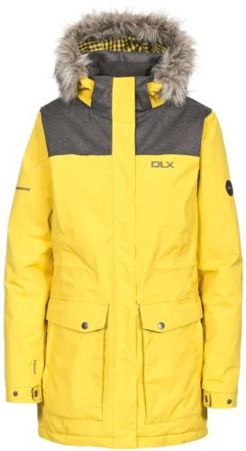 Trespass Garner DLX Ladies Jacket Waterproof Breathable Insulated Parka Coat