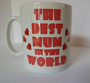 Image Is Loading Personalised Best Mum In The World Mug Cup