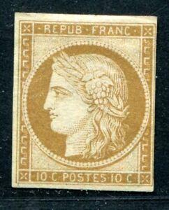 FRANKREICH-1849-1-ungebraucht-ohne-Gummi-Yvert-900-S3223