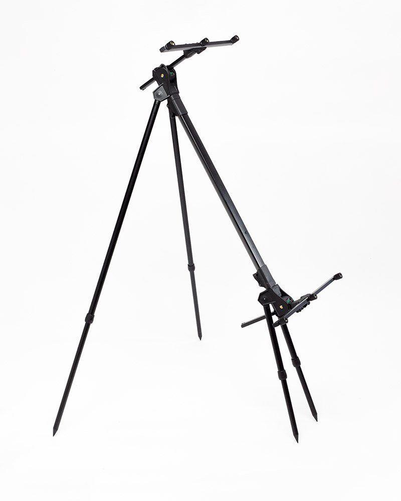 NUOVO DAIWA nero Widow 3 Rod Pod leggero versatile Regolabile Pesca grossa