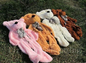 New Sell!60-300cm Huge Giant super Semi-finished Teddy Bear Skin(without cotton)