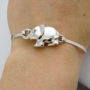 925 Sterling Silver Marcasite Elephant Post Earrings Elephants Zoo Stud NEW